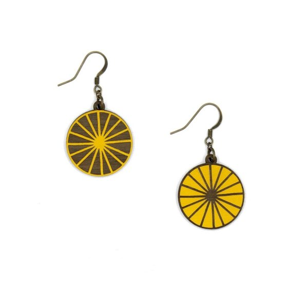 Sun Earrings 014