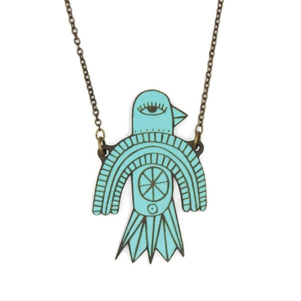 Flying Bird Necklace 015