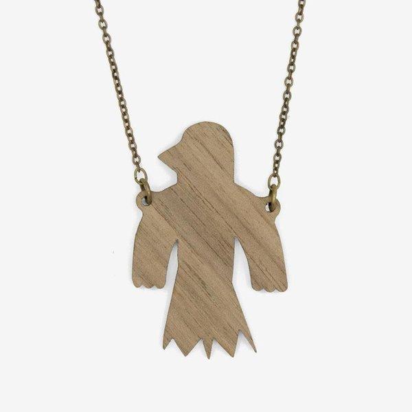 Collar Flying Bird 015