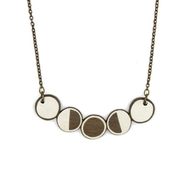 Moon Phases Necklace 016