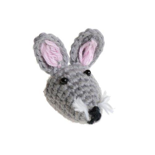 Just Trade Mini Rabbit Brooch 08