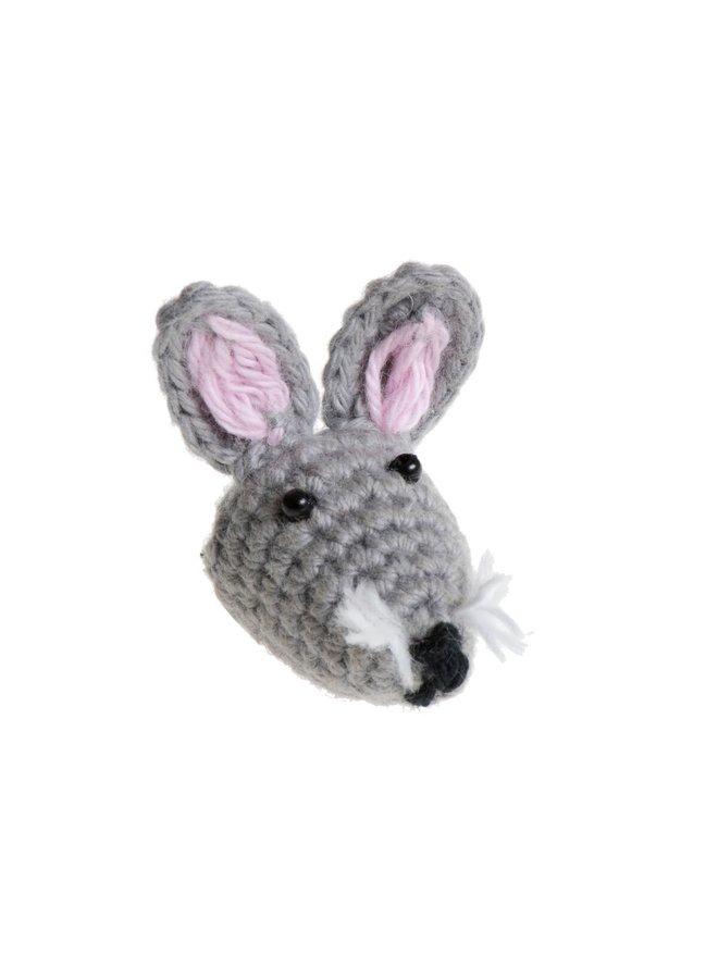 Mini Rabbit Brooch