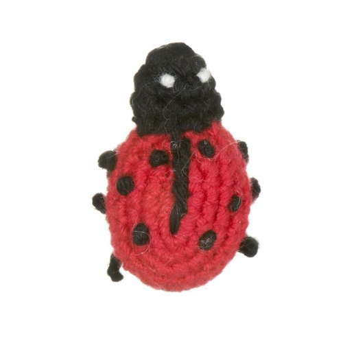 Just Trade Mini Ladybird  Brooch 26