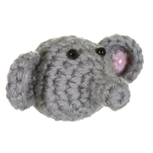 Just Trade Mini-Elefantenbrosche 28