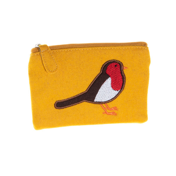 Robin Applique Felt Purse  39