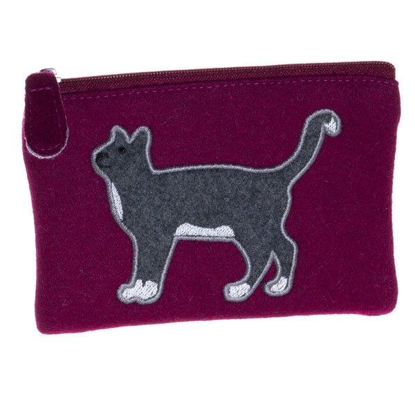 Geldbörse aus Katzenfilz 33