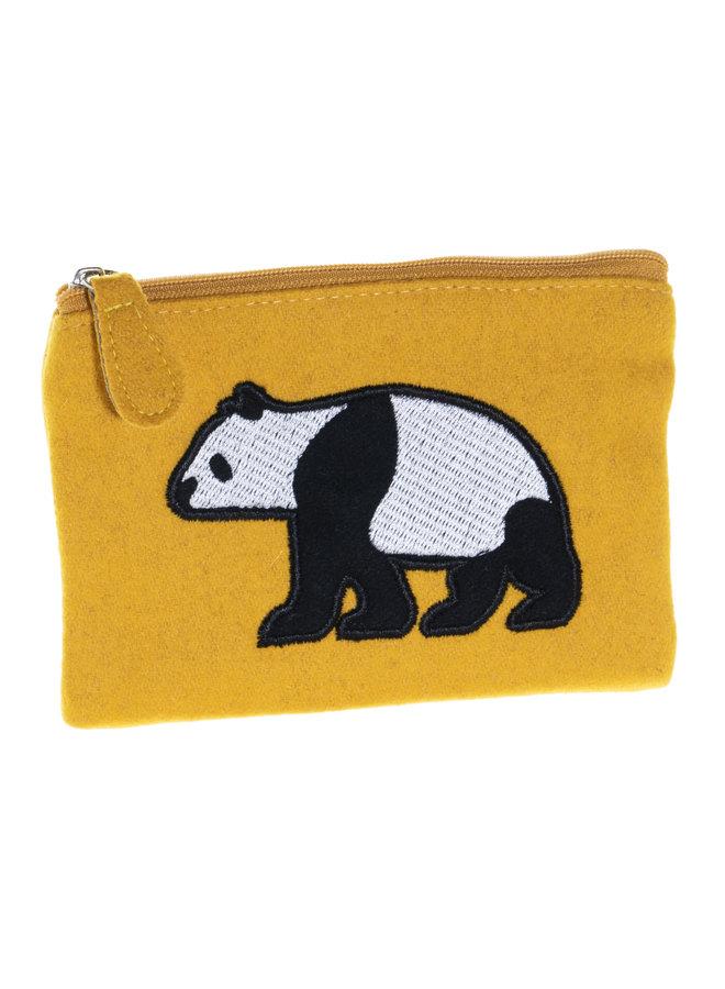 Panda Applique Filz Geldbörse 36