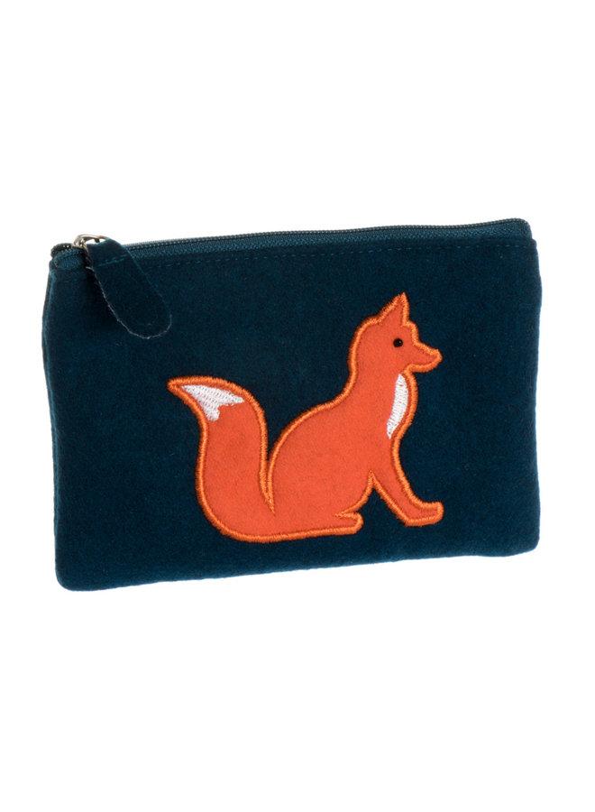 Fox Applique Filz Geldbörse 38