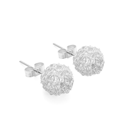 Just Trade Cristabel Round Studs 10