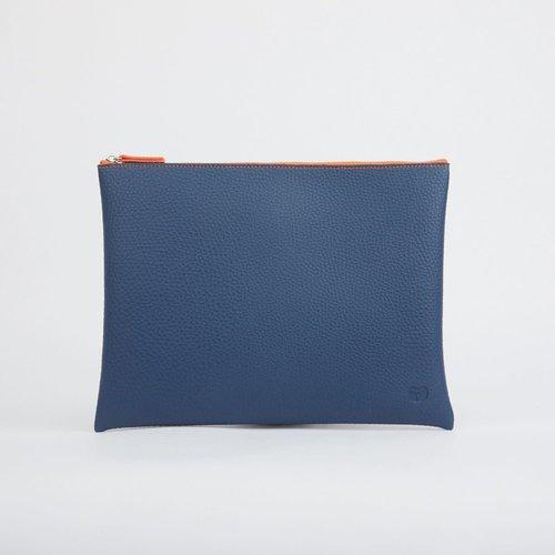 goodeehoo Navy Large zip pouch  023