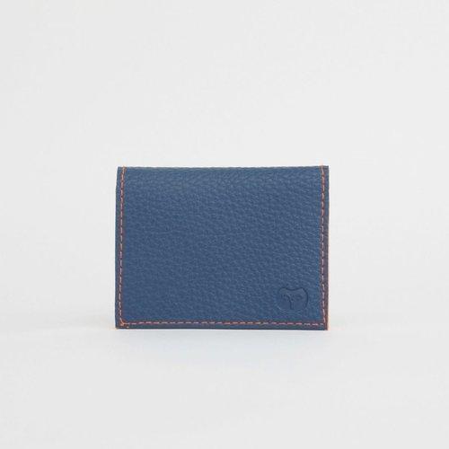 goodeehoo Navy vegan card wallet 041