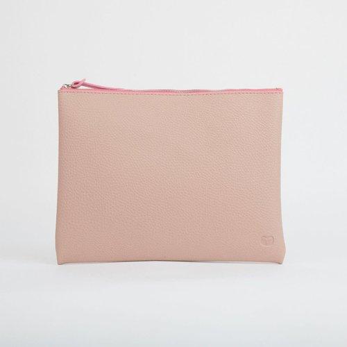 goodeehoo Pink Große Reißverschlusstasche 027