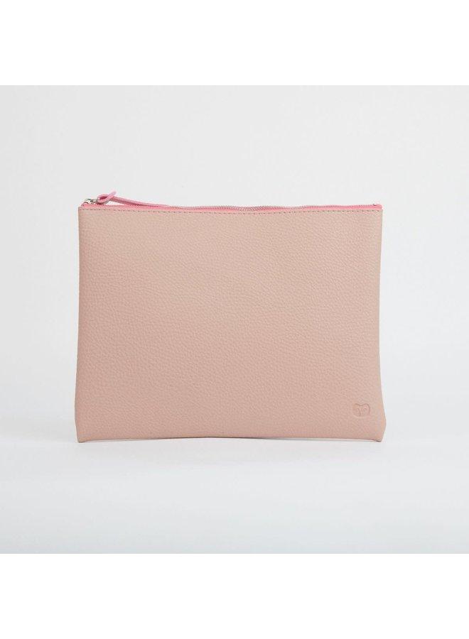 Pink Große Reißverschlusstasche 027