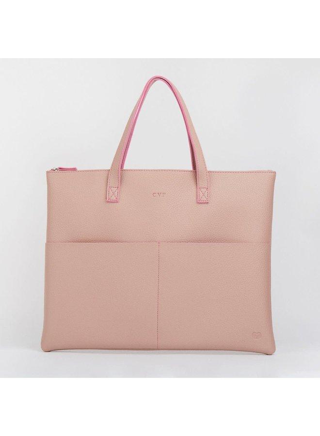 Rosa Einkaufstasche 032
