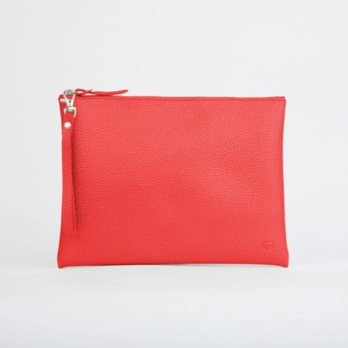 goodeehoo Red Peruvian Pouch with Handle 021