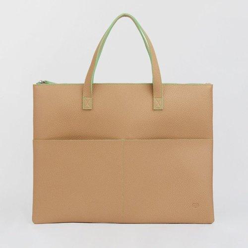 goodeehoo Sandy Beige Tote Bag 031