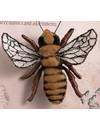 Honey Bee geborduurde broche 070