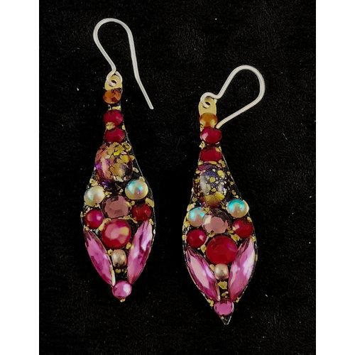 Annie Sherburne Vintage large drop earrings 164