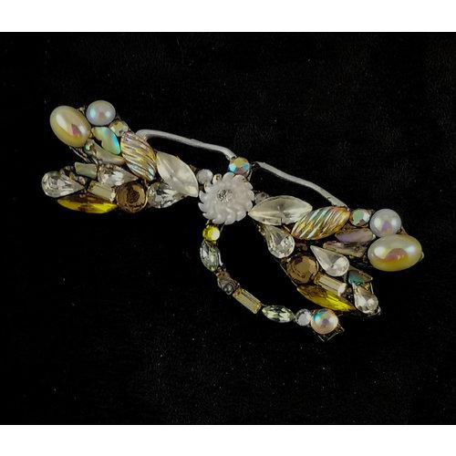 Annie Sherburne Broche vintage grande libélula 173