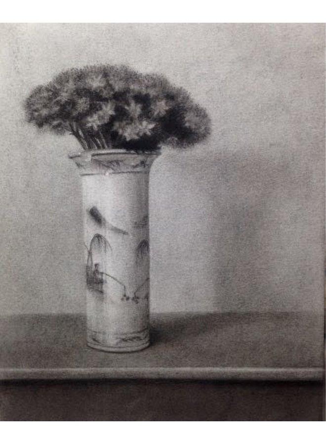 Sedum in a Chinese Vase Giclee Print 025