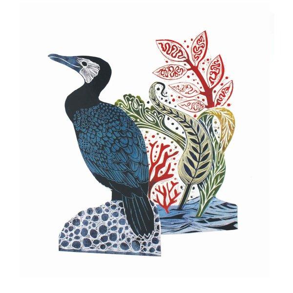 Cormorant 3D card