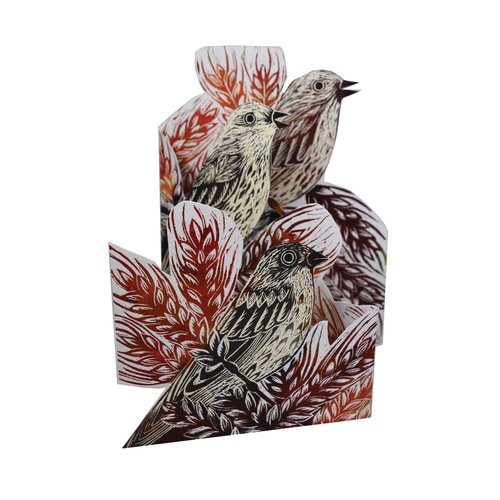 Judy Lumley Corn Bunting Trifold 3D card