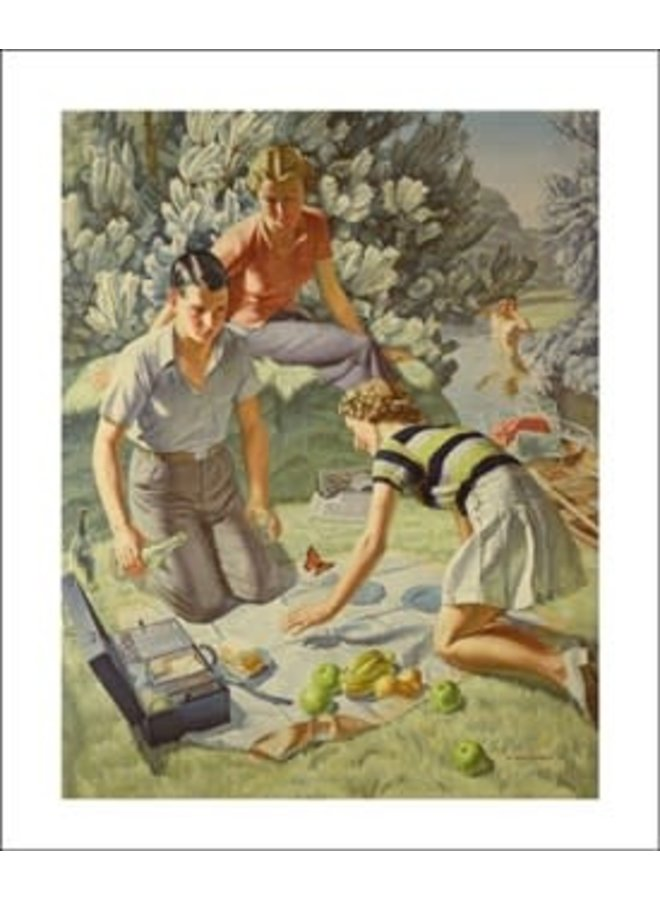 Picnic card by Harold Williamson