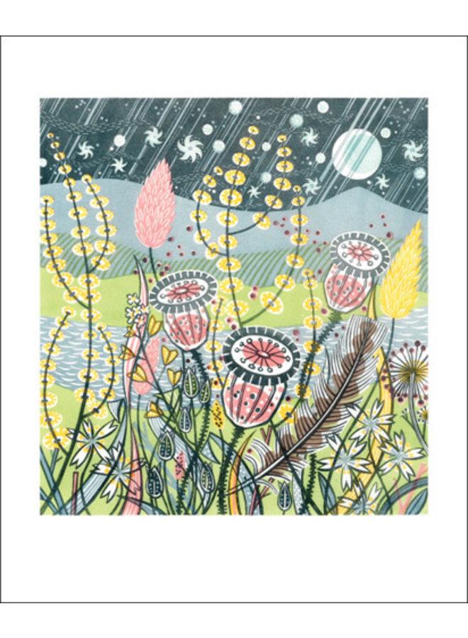 Season Songs card by Angie Lewin