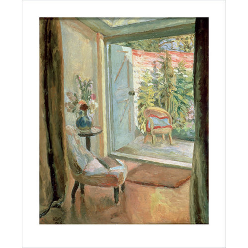 Art Angels View into the Garden card by Vanessa Bell