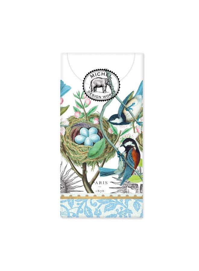 Vogelnest 10 Taschenpapiergewebe