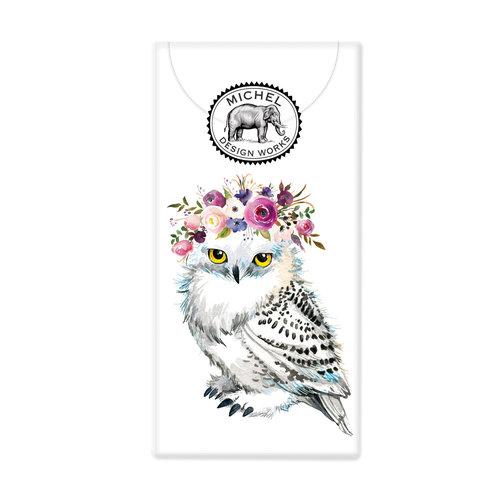 Michel Design Works Garden Owl 10 Pocket PaperTissues