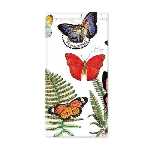 Michel Design Works Papillon 10 pañuelos de papel de bolsillo