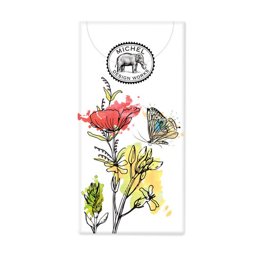 Michel Design Works Posies 10 Pocket Paper Tissues