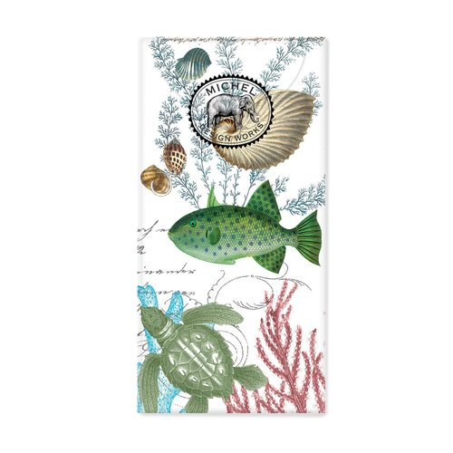 Michel Design Works Sea Life 10 Pocket PaperTissues