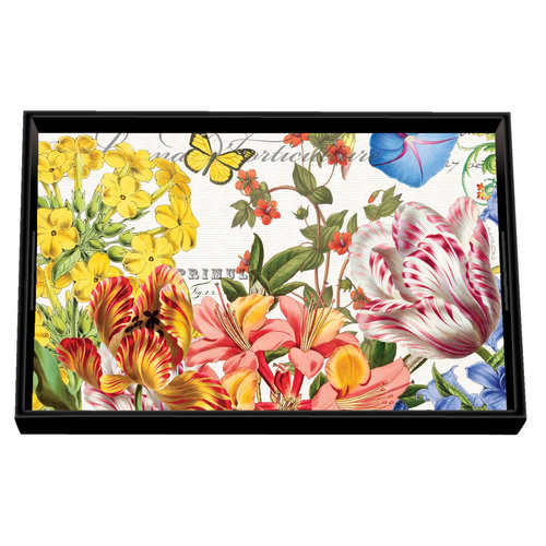 Michel Design Works Summer Days  Vanity Decoupage Wooden Tray