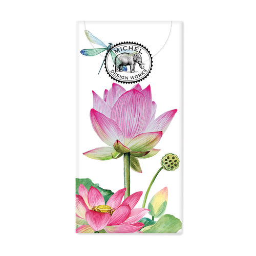 Michel Design Works Water Lilies 10 Pocket Paper Tissues