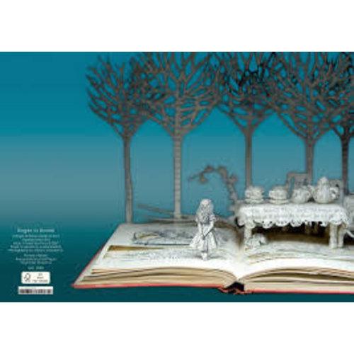 Roger La  Borde Alice Mad Tea Party  by Su Blackwell 3D Card
