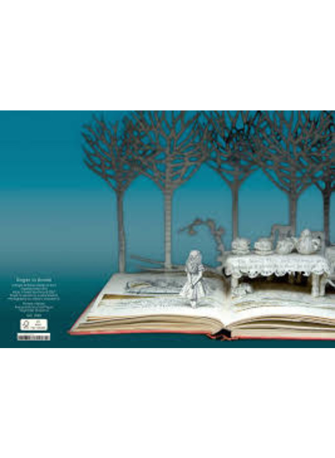 Alice Mad Tea Party  by Su Blackwell 3D Card