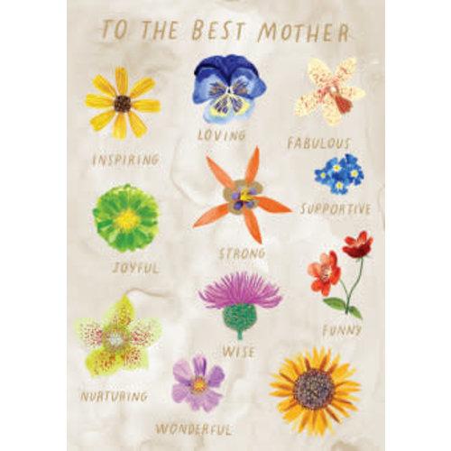 Roger La  Borde Best Mother Folowers - Gold Card
