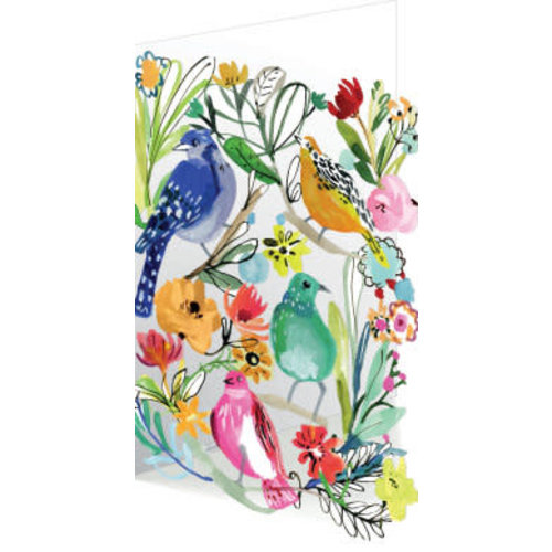 Roger La  Borde Bird Life 3D Card