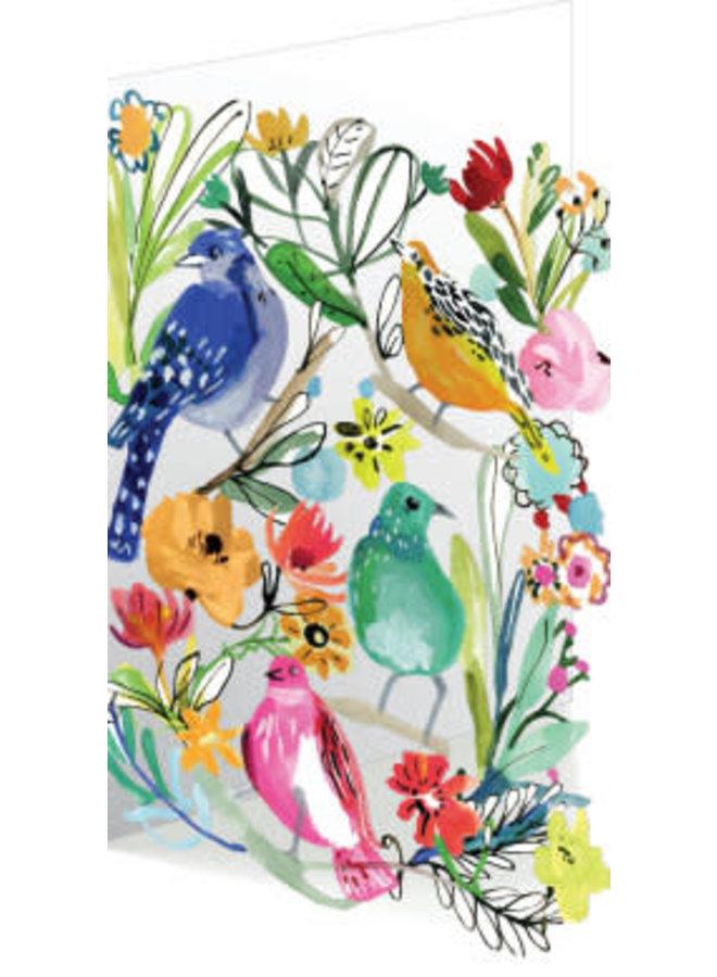 Bird Life 3D Card