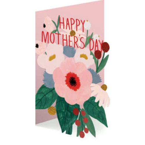 Roger La  Borde Happy Mother's Day Laser Card