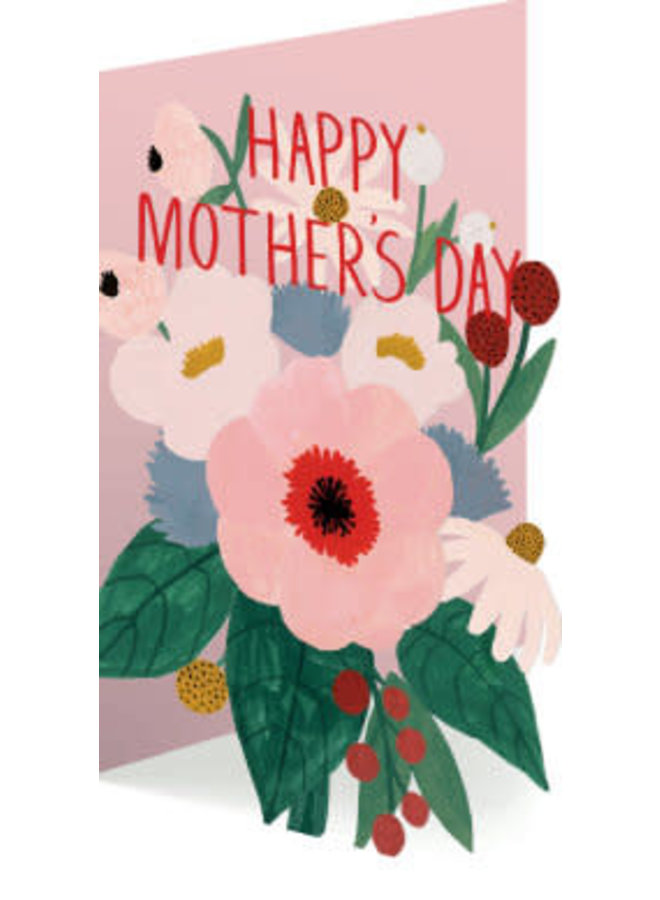Happy Mother's Day Laser Card