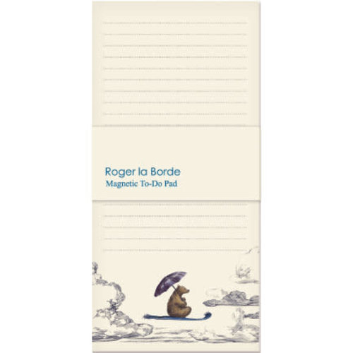Roger La  Borde Little Bear magnetic note pad 80 pages