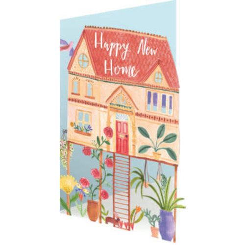 Roger La  Borde New Home  3D Card