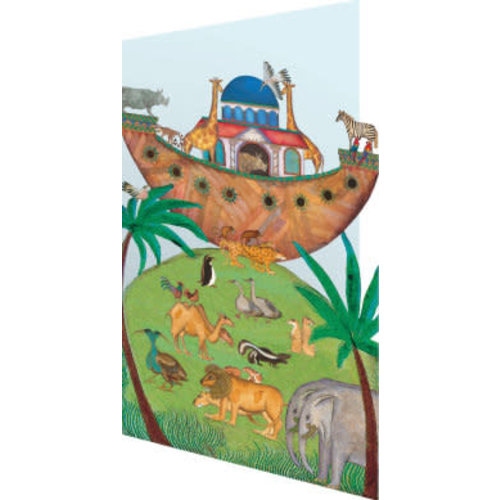 Roger La  Borde Noahs Ark  3D Card
