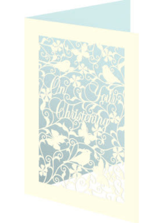On Your Christening  3D Card