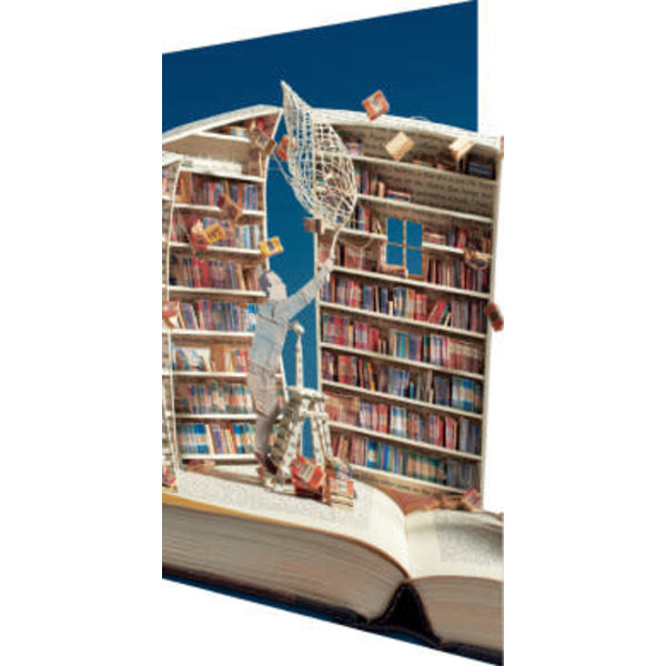 The Book Collector 3D Card