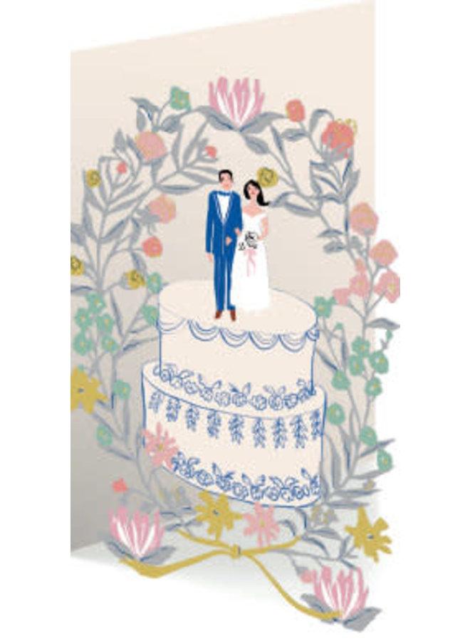 Wedding Cake 3D Card
