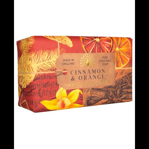 English Soap Company Cinnamon & Orange  Pure Vegetable Soap